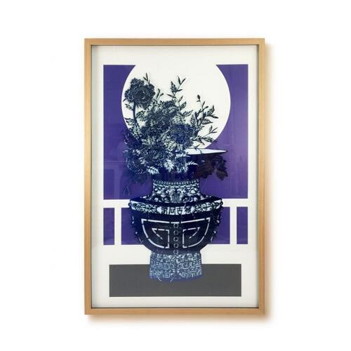 Fairfield - Flow Blue Series Wall Art