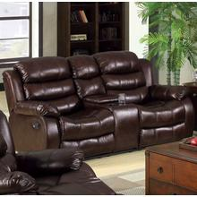 See Details - Berkshire Love Seat W/ Center Console