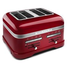See Details - Pro Line® Series 4-Slice Automatic Toaster Candy Apple Red