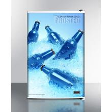 Cold Cavern Beer Froster, Summit's Counter Height Freezer That Stores Aluminum Bottled Beer At 24 f; Replaces Fs60mfrost