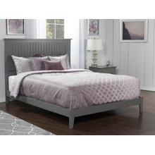 Nantucket Queen Bed in Atlantic Grey
