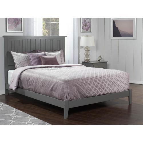 Nantucket Queen Bed in Atlantic Grey