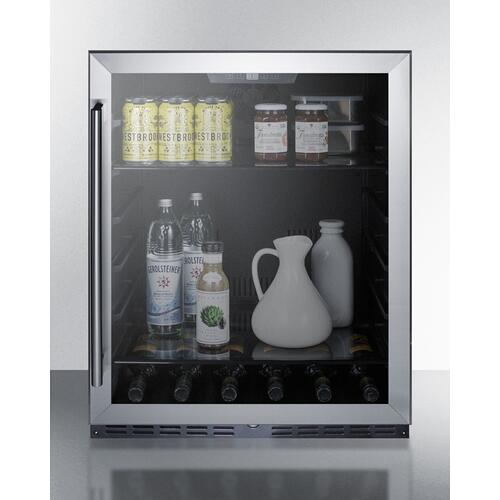 "Summit - 24"" Wide Built-in Beverage Center, ADA Compliant"