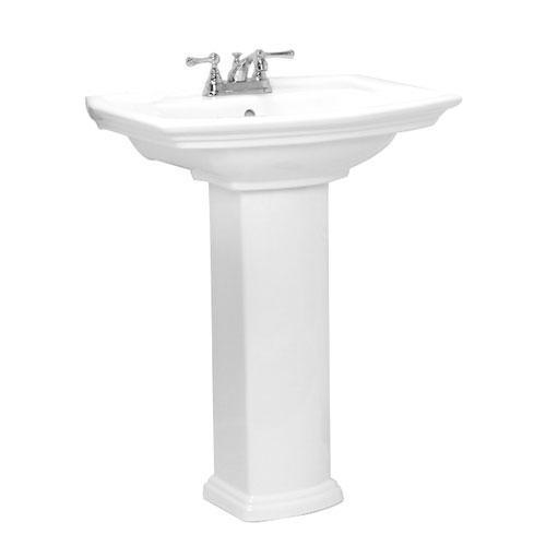"Washington 765 Pedestal Lavatory - 8"" Widespread"