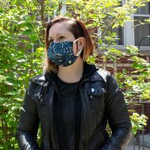 See Details - Reusable Face Mask in Bandana Denim