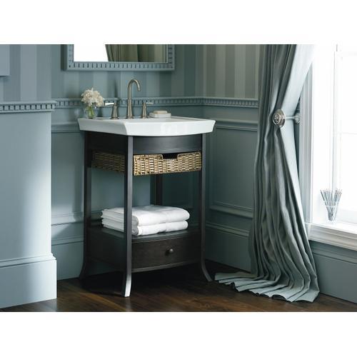 Black Forest Petite Bathroom Vanity Cabinet