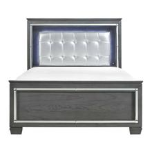 View Product - California King Bed, LED Lighting