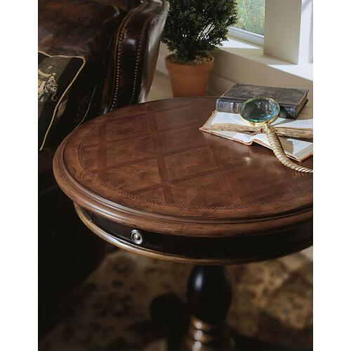 Living Room Preston Ridge Pedestal Accent Table