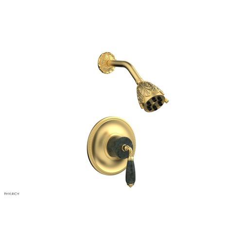 Phylrich - VALENCIA Pressure Balance Shower Set PB3338F - Burnished Gold