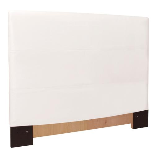 FQ Slipcovered Headboard Avanti White (Base and Cover Included)