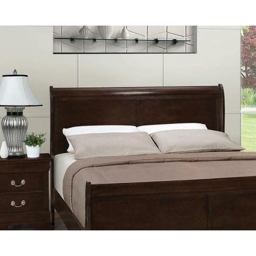 Product Image - Louis Philippe Traditional Cappuccino Full Headboard