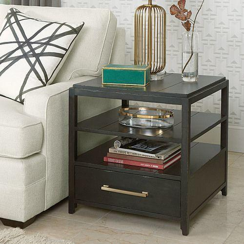 Marlowe Rectangular Drawer End Table