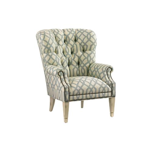 Wilton Leather Wing Chair