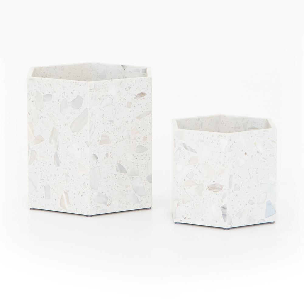 Toland Hexagon Planter (set of 2)