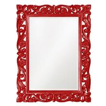 View Product - Chateau Mirror - Glossy Red