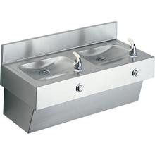 See Details - Elkay Multi-Station Fountain, Non-Filtered Non-Refrigerated Stainless