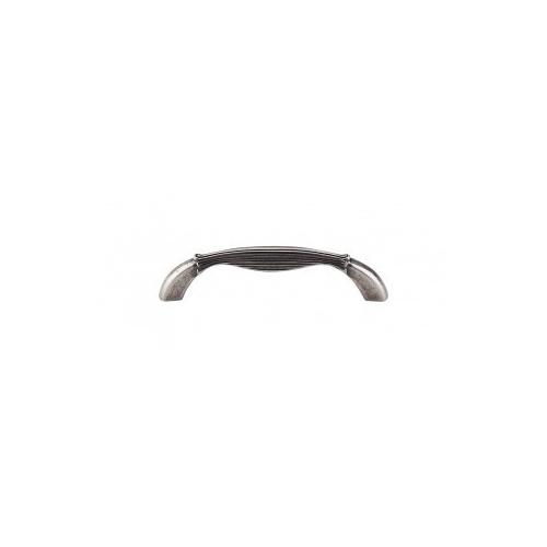 Top Knobs - Straight Pull 3 3/4 Inch (c-c) - Pewter Antique