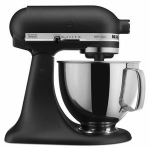 KitchenAidArtisan® Series 5 Quart Tilt-Head Stand Mixer - Cast Iron Black