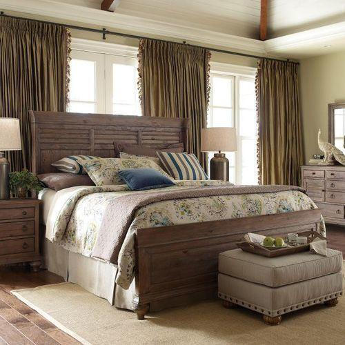 Gallery - Weatherford King Heather Shelter Bed