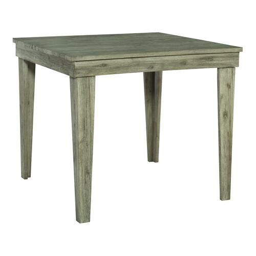 Gallery - 42X42 ASPEN PUB HEIGHT DINING TABLE IN GRAY WASH