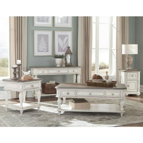 Homelegance - Chairside Table