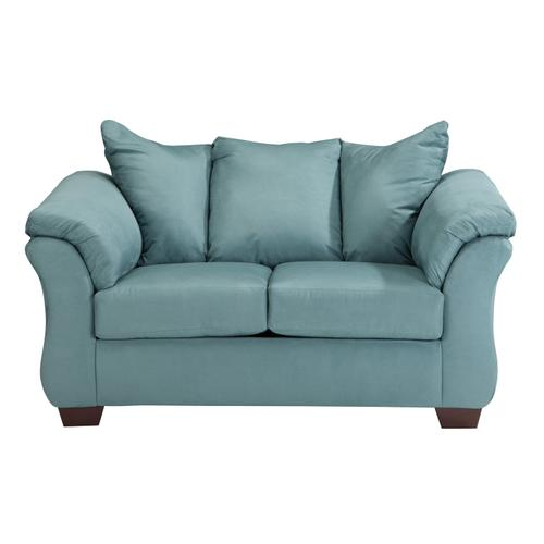 Signature Design By Ashley - Darcy Loveseat Sky