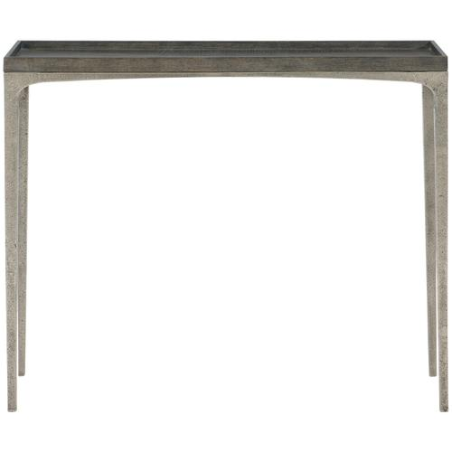 Linea Sofa Table in Cerused Charcoal (384)