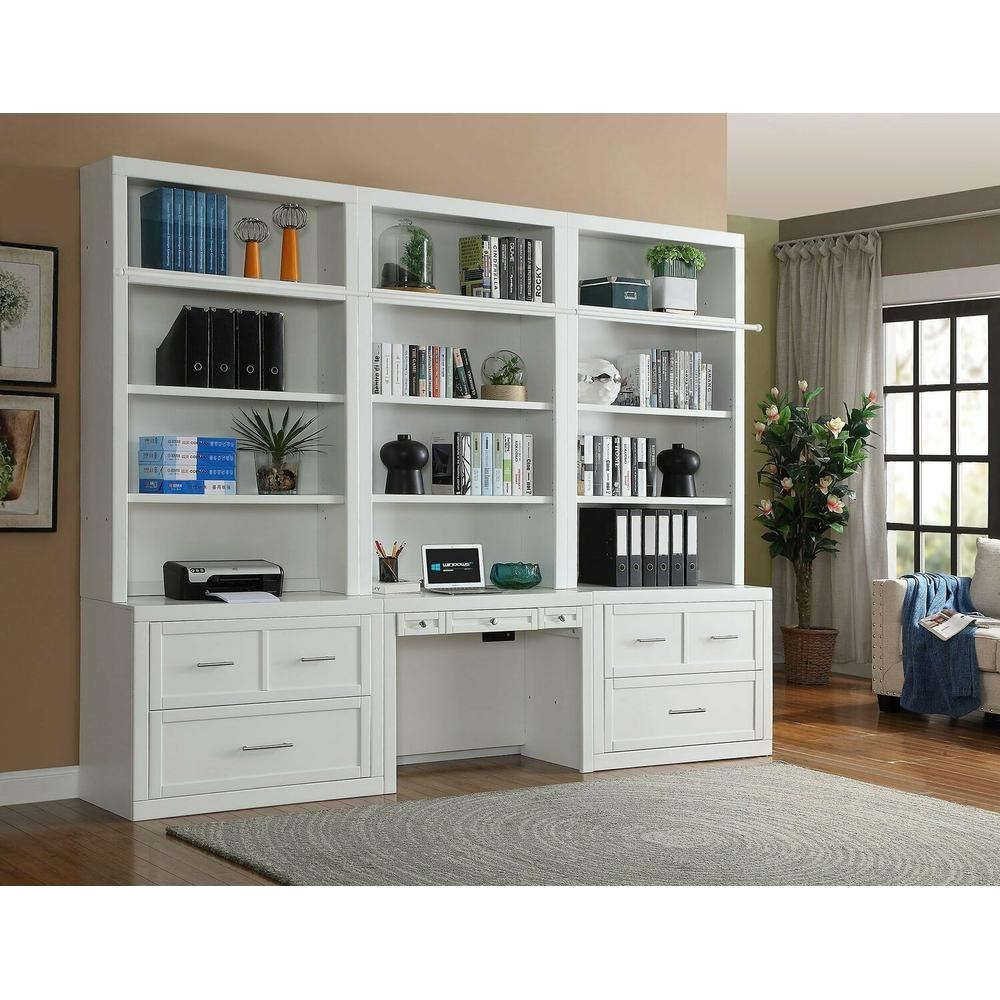 See Details - CATALINA 6 piece Workspace Library Wall