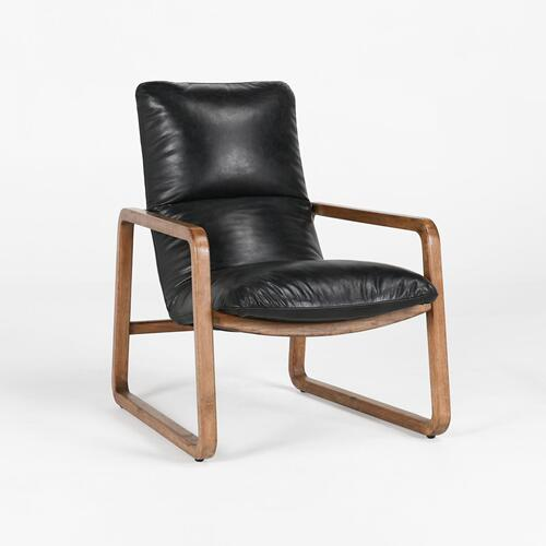 Classic Home - Atticus Accent Chair Black