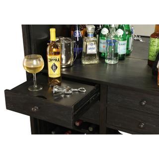 695-186 Old Mission Wine & Bar Cabinet