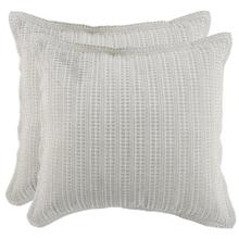 Mason Taupe 2Pc Euro Sham Set
