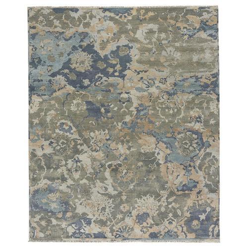 Astbury Blue Multi - Rectangle - 5' x 8'