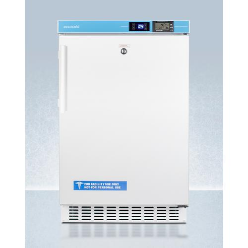 """Summit - 20"""" Wide Built-in Pharmacy All-refrigerator, ADA Compliant"""
