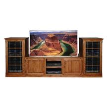 Forest Designs Traditional TV Stand & Audio Towers - 67w