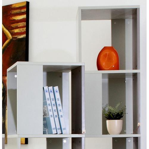 VIG Furniture - Modrest Elevate 2 - Modern Grey Display Unit