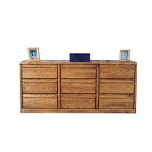 See Details - Forest Designs Bullnose Nine Drawer Dresser: 72W x 32H x 18D