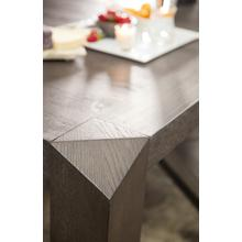 View Product - Miramar Aventura Vermeer 82in Leg Dining Table w/1-24in Leaf