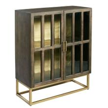 28464 Glass Door Cabinet