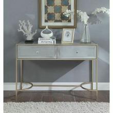 ACME Wisteria Sofa Table - 80608 - Mirrored & Rose Gold