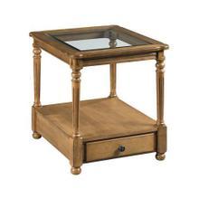 Candlewood Rectangular End Table W/ Drawer