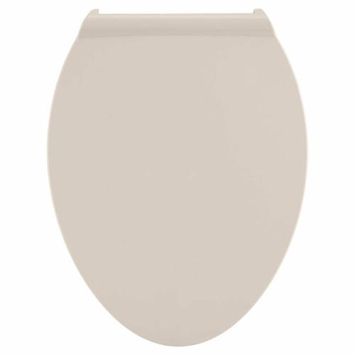 Contemporary Slow-Close Elongated Toilet Seat with TriVantage  American Standard - Linen