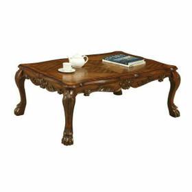 ACME Dresden Coffee Table - 12165 - Cherry Oak