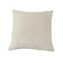 "CTTN FBRC PILLOW 18""W, 18""H"