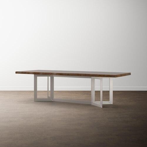 "MODERN with Bench*Made 90"" Maple Astor Table"