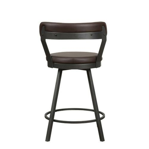 Product Image - Swivel Counter Height Chair, Brown