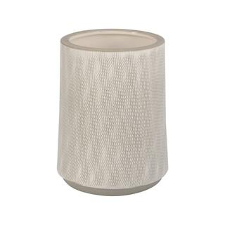 See Details - Woodgrain Planter 7.5in Grey