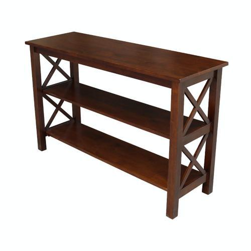 John Thomas Furniture - Hampton Sofa Table in Espresso