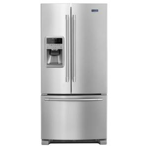 33- Inch Wide French Door Refrigerator with Beverage Chiller Compartment - 22 Cu. Ft. - FINGERPRINT RESISTANT STAINLESS STEEL