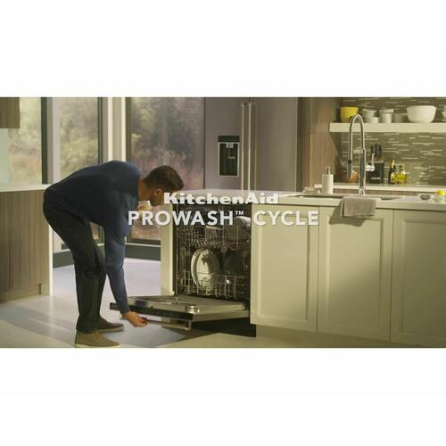 46 DBA Dishwasher with ProWash , Front Control White