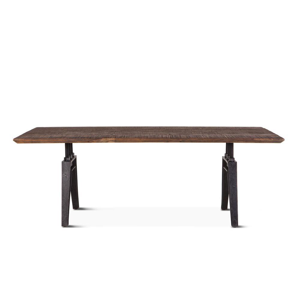 """Carnegie Dining Table 84"""" Bandsaw Teak"""